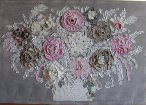 Bouquet douceur 100x80