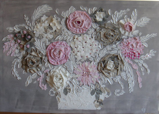 Bouquet douceur 100x80