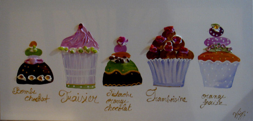 Cup cakes vertical 80x40