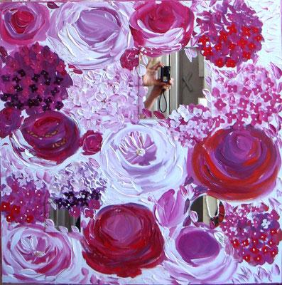 Fleurs acidulées 80x80