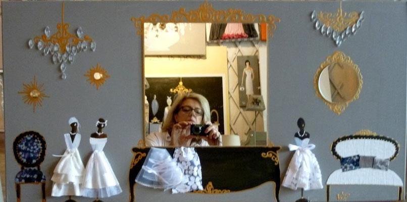 Salon mariage lin 100x50