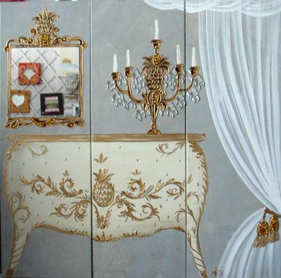Versailles blanc 3x40x120