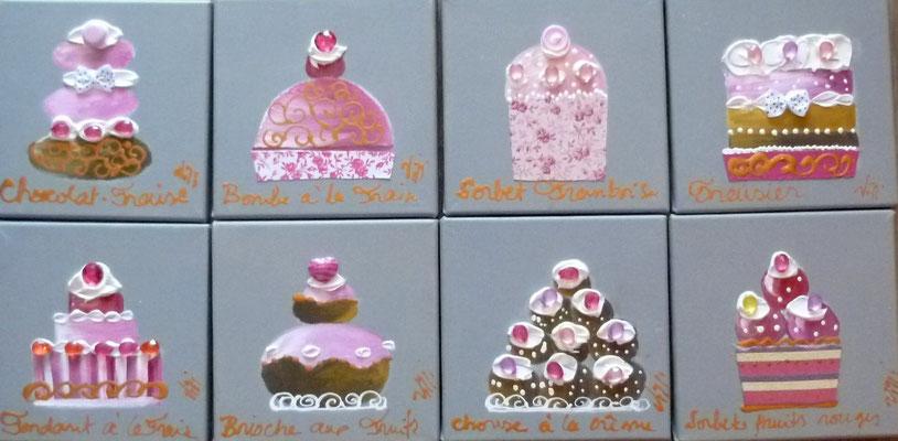 Cakes  lin 8x20x20