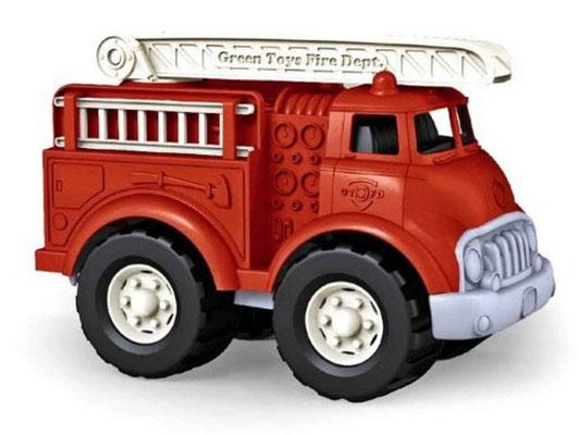 Véhicule GreenToys - Camion de pompiers