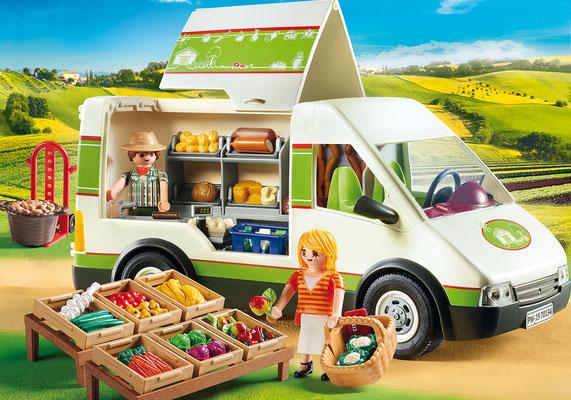 Playmobil - Camion de marché