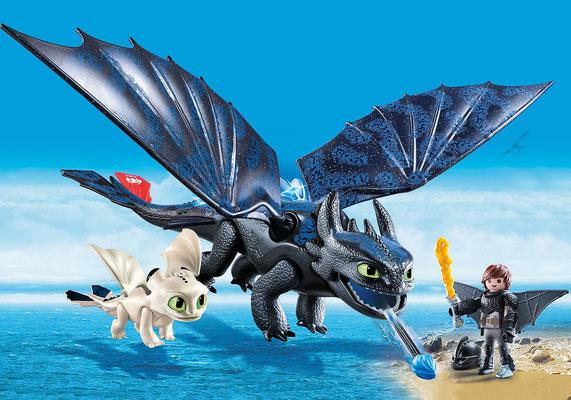 Playmobil Dragons - Krokmou et Harold