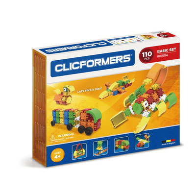 Clicformers - Set basique 110 pièces