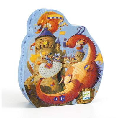 """Puzzle """"Vaillant et le dragon"""""""