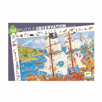 """Puzzle Observation """"Pirates"""""""