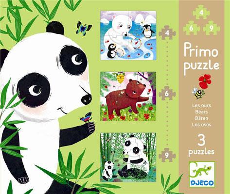 "Primo Puzzle ""Les ours"""