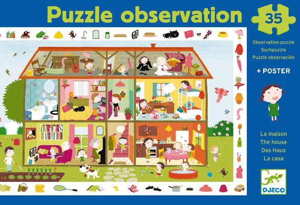 """Puzzle Observation """"La maison"""""""