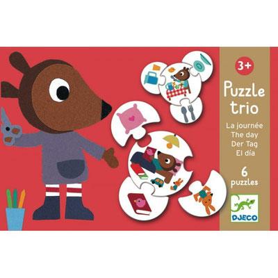 """Puzzle trio """"La journée"""""""