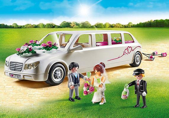 Playmobil - Limousine avec couple de mariés