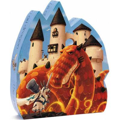 """Puzzle """"Le château au dragon"""""""