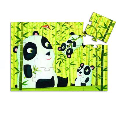 """Puzzle """"Maman panda et son bébé"""""""
