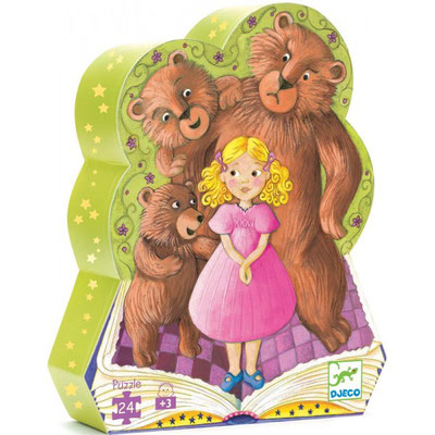 """Puzzle """"Boucle d'or et les trois ours"""""""