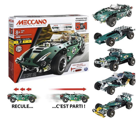 Meccano - Cabriolet rétro-friction