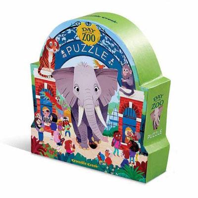 """Puzzle """"Un jour au zoo"""""""