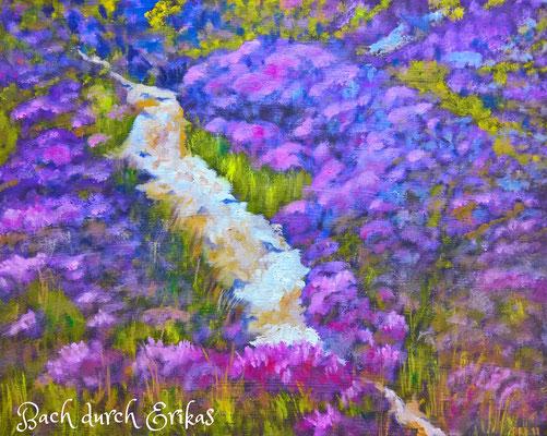 50 x 40 cm, Öl auf Leinwand, Harris, Äußere Herbiden, Schottland