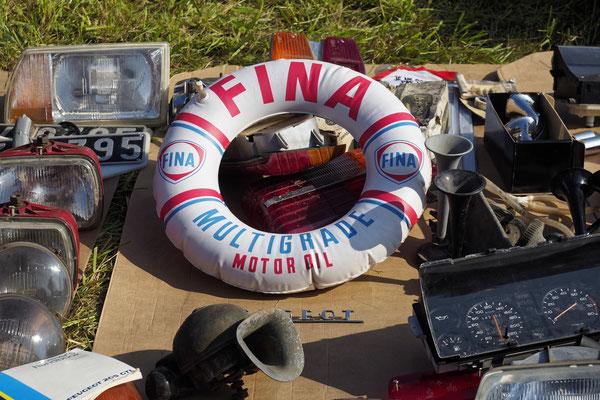 Letztes Jahr wurde die passende FINA-Luftmatratze gesichtet.