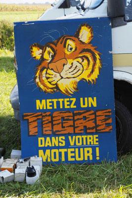 """Kennt ihr noch den Reklamespruch """"Pack den Tiger in den Tank""""?"""