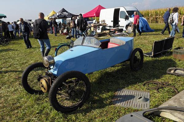 Auch dies ist ein Auto. SIMA Violet von 1925