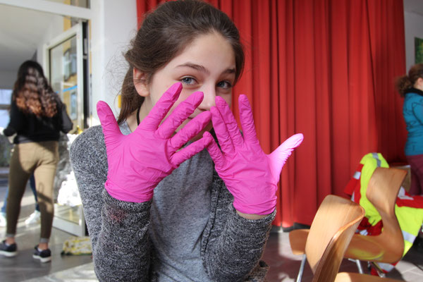 Handschuhe zum Eigenschutz