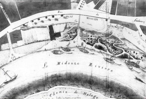 Rivière la Midouze