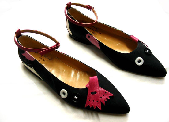 ballerinas, flatties, hearth. bespoke, made to order, fancy ballerinas, handmade in Italy, handmade, Fashion shoes, quality shoes, handkrafted shoes, exclusive shoes, luxury shoes, design shoes