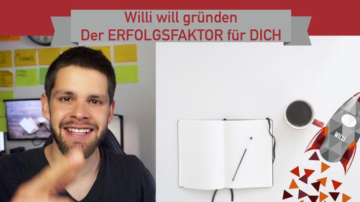 Willi will gründen: Erfolgsfaktor für mehr Produktivität