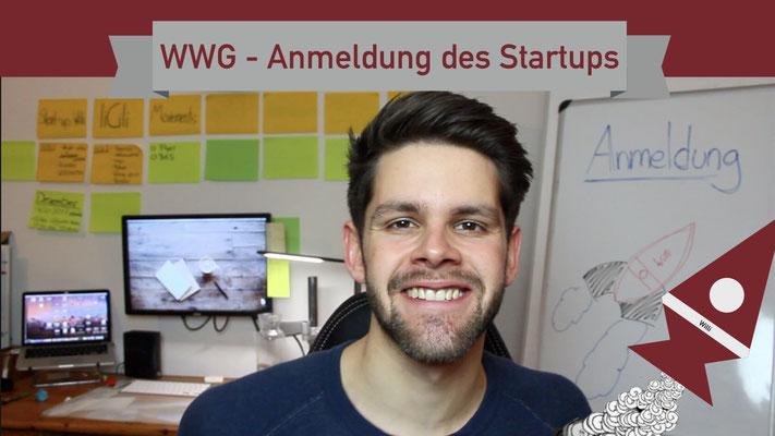 Willi will gründen: Anmeldung des Startups