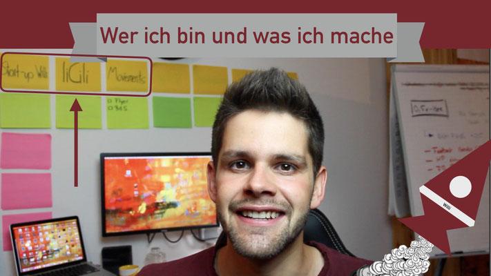 Willi will gründen: Wer ich bin Lukas Kauderer