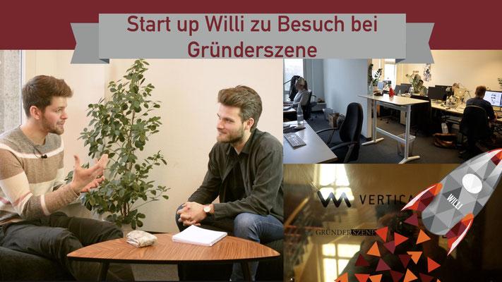Willi will gründen: Gründerszene zu Besuch
