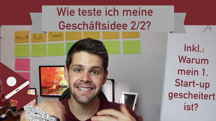 Willi will gründen: Geschäftsidee testen 2/2