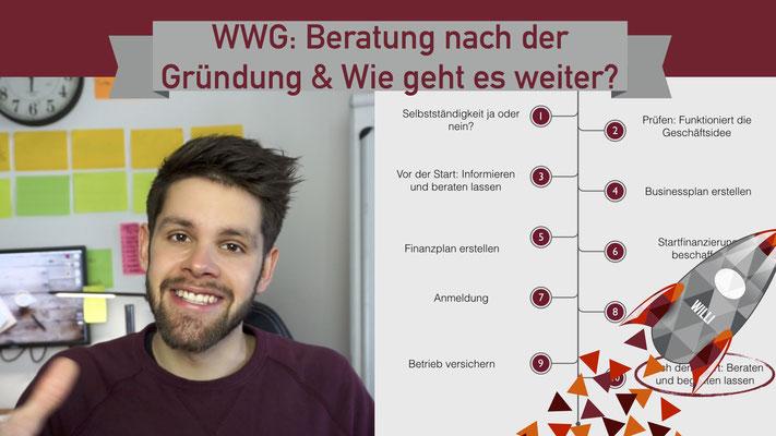 Willi will gründen: Beratung nach der Gründung
