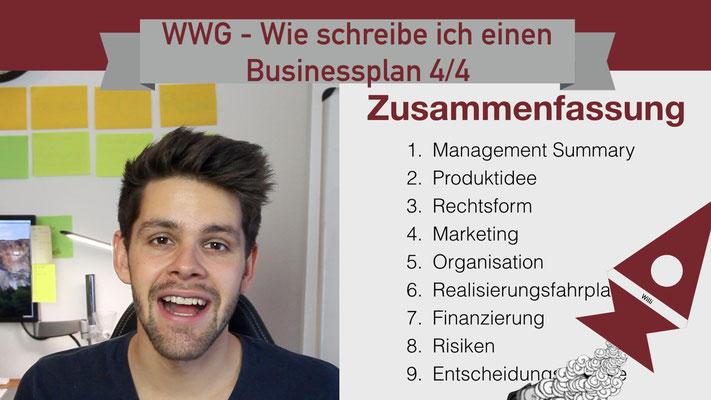 Willi will gründen: Businessplan 4/4