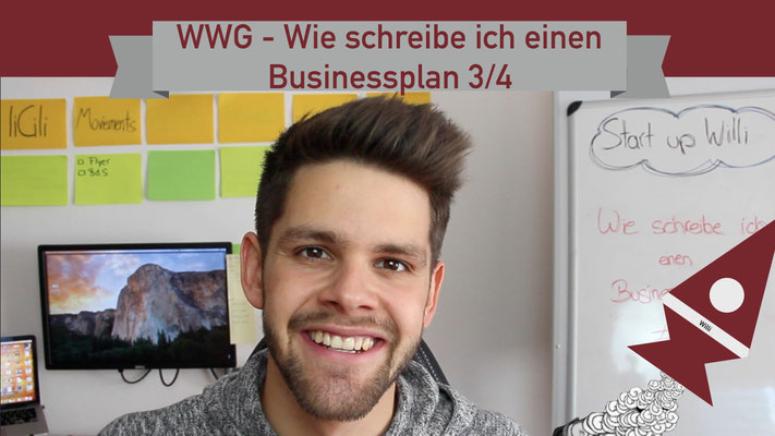 Willi will gründen: Businessplan 3/4