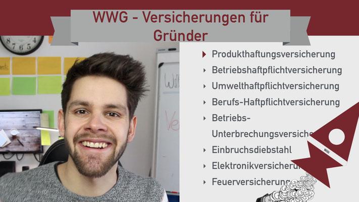 Willi will gründen: Versicherung für Gründer