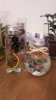 どちらも小さい瓶です