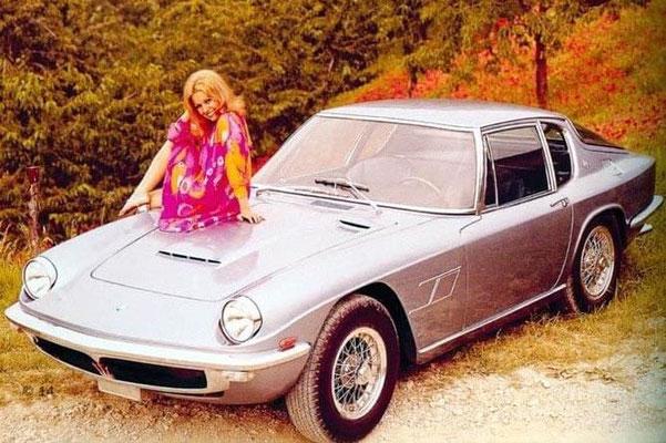 Maserati Mistral Werbebild (Pressefoto Maserati)