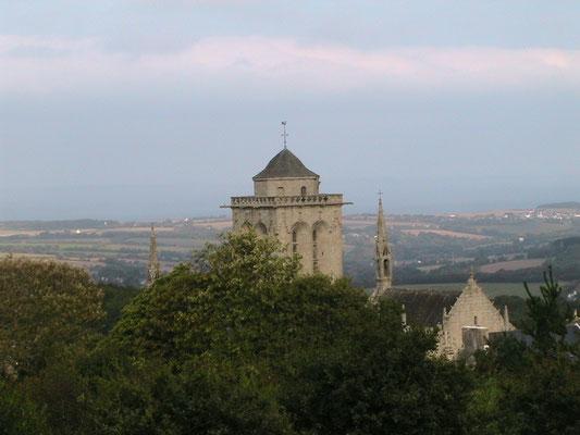 Vue panoramique sur la baie - Locronan