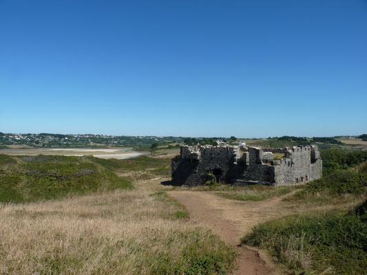 Le fort Napoleon III sur l'île de l'Aber