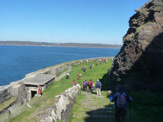 La batterie basse du Fort de Cornouaille - Roscanvel