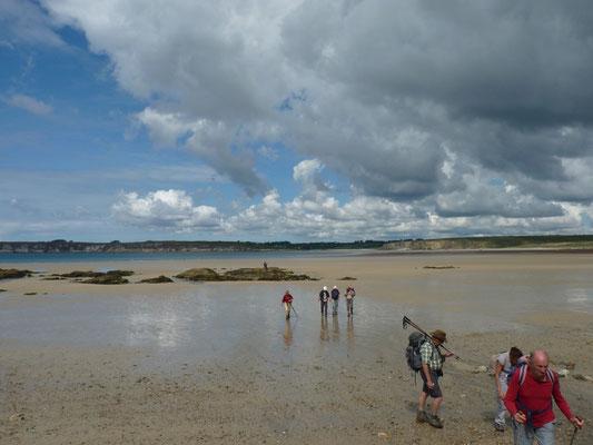 Sur la plage de Goulien - Crozon