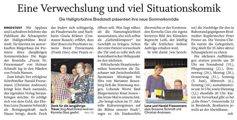 Husumer Nachrichten (18.05.2018)