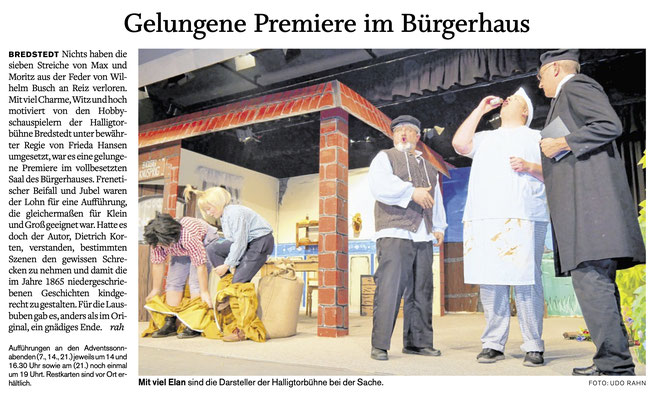 Husumer Nachrichten (04.12.2019)