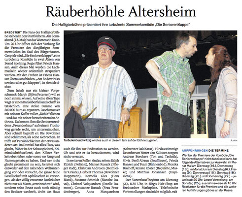Husumer Nachrichten (28.04.2017)