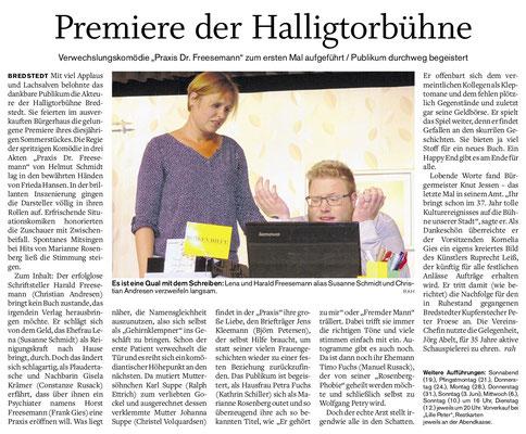 Husumer Nachrichten (12.05.2018)