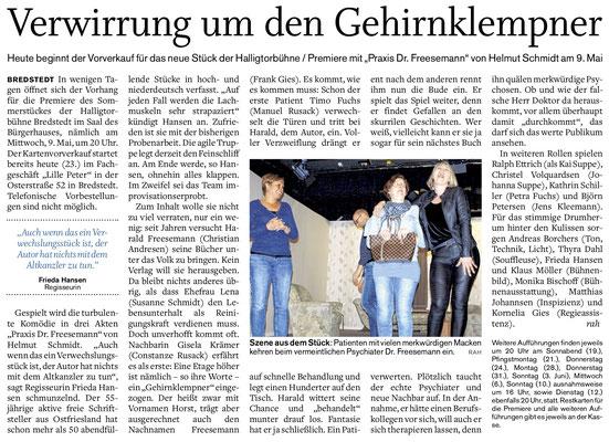 Husumer Nachrichten (23.04.2018)