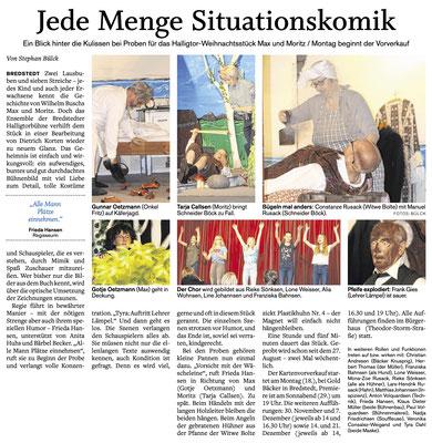 Husumer Nachrichten (16.11.2019)